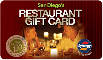 Welcome San Diego Gift Card Processed By Synergy World Inc
